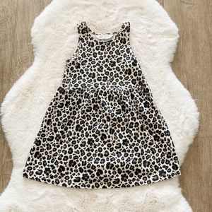 H&M toddler leopard print tank dress